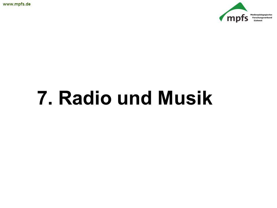 7. Radio und Musik 20