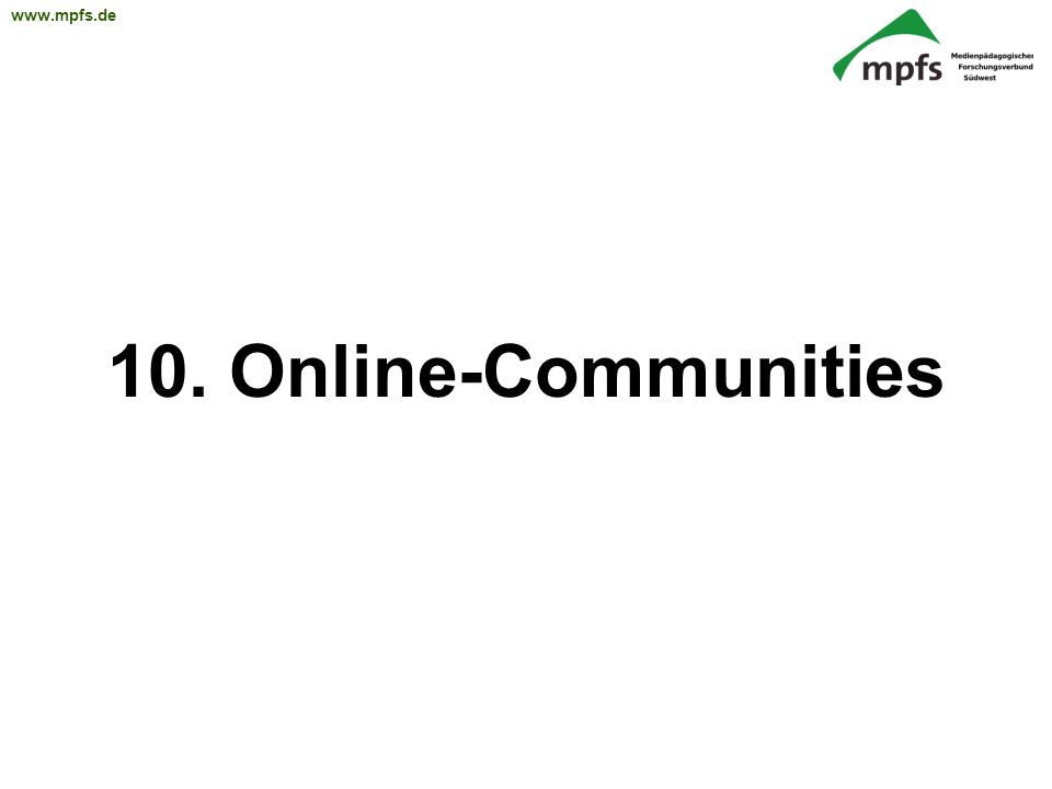 10. Online-Communities 36