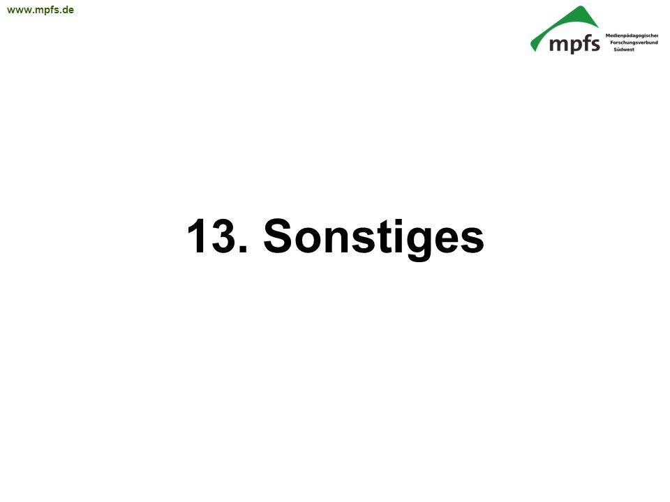 13. Sonstiges 57