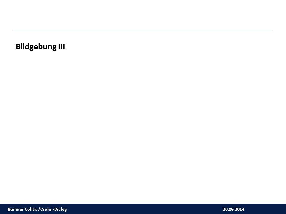 Bildgebung III Berliner Colitis /Crohn-Dialog 20.06.2014