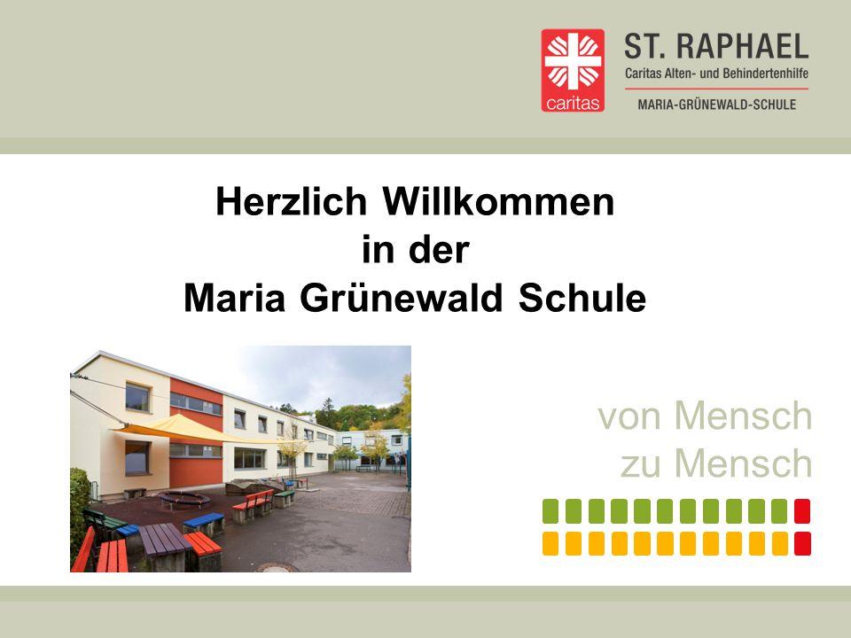 Herzlich Willkommen in der Maria Grünewald Schule