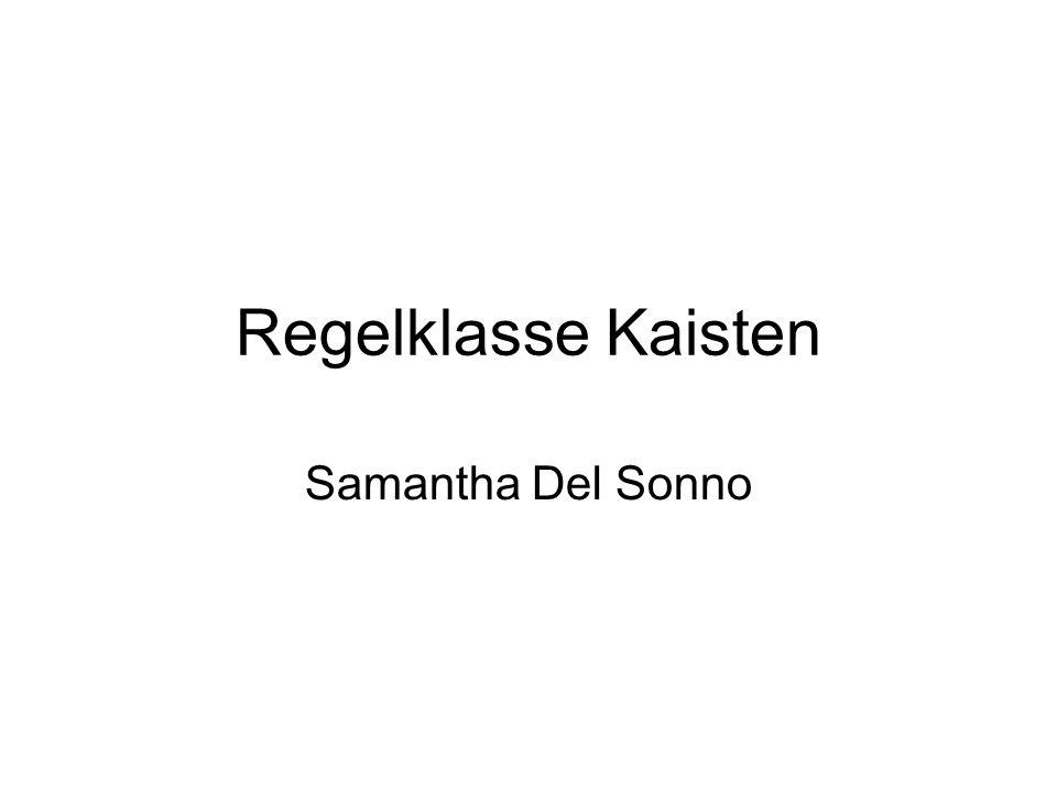 Regelklasse Kaisten Samantha Del Sonno 12