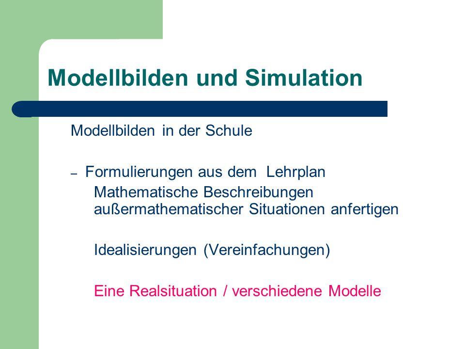 Modellbilden und Simulation