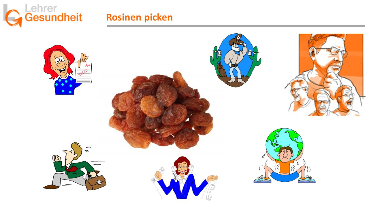 Rosinen picken