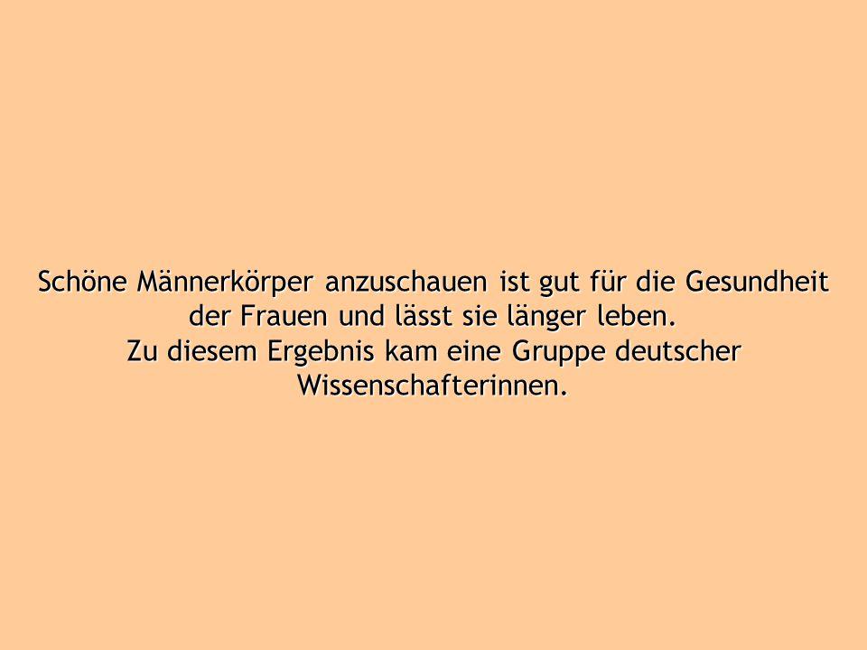 Zu diesem Ergebnis kam eine Gruppe deutscher Wissenschafterinnen.