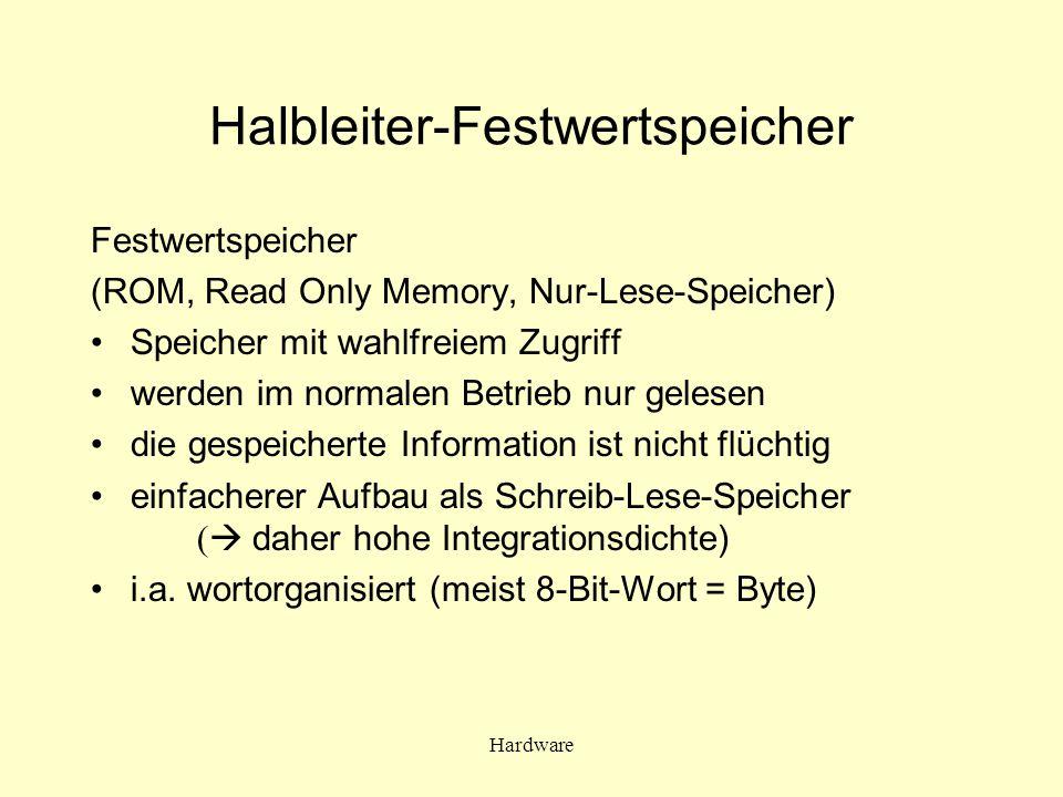 Halbleiter-Festwertspeicher