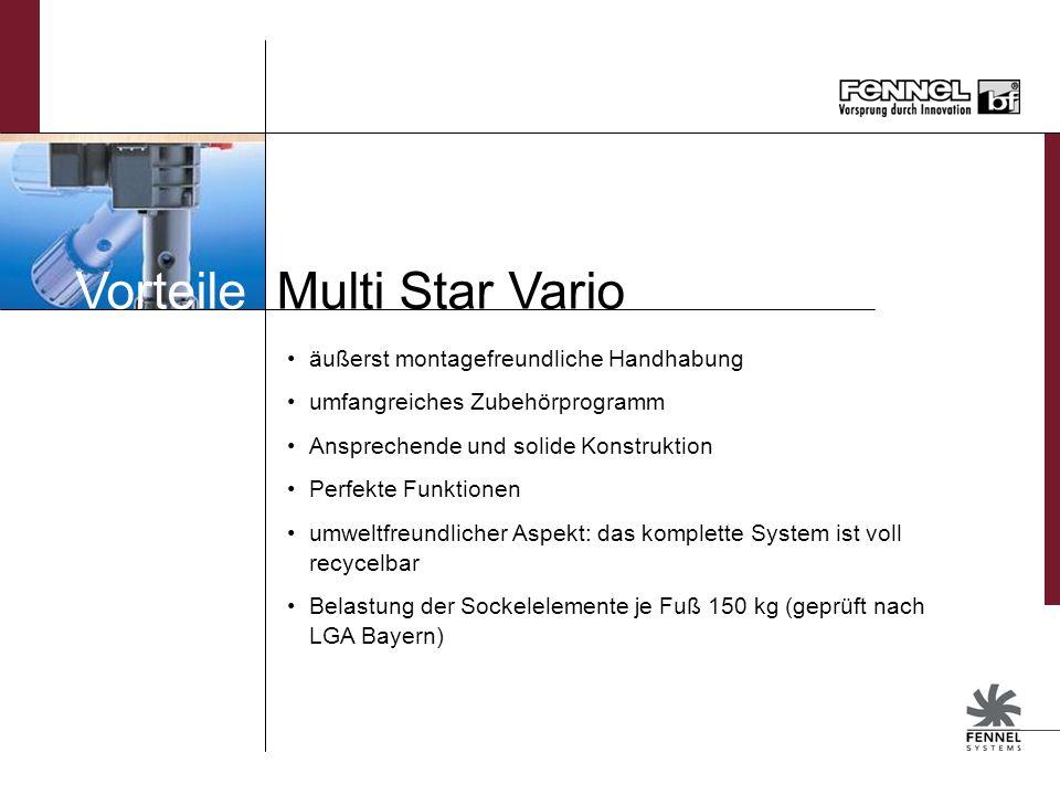 Vorteile Multi Star Vario
