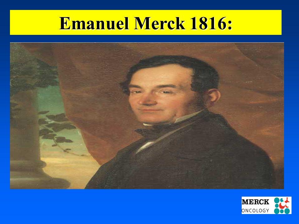 Emanuel Merck 1816: 03.05.2001 17.00 Uhr s.t. Potsdam: 16.06.2001 GEHE