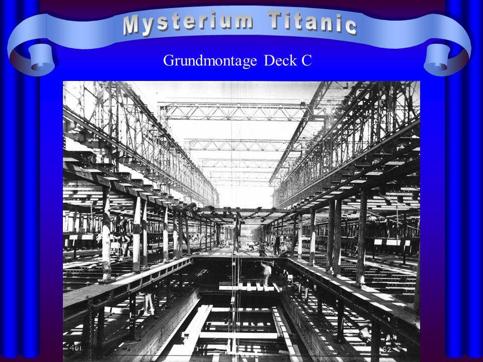 Mysterium Titanic Grundmontage Deck C