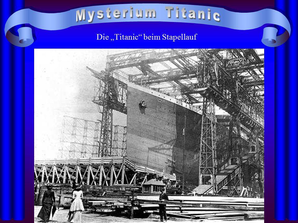 """Die """"Titanic beim Stapellauf"""