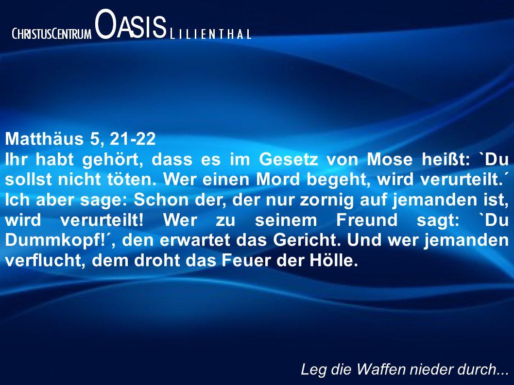 Matthäus 5, 21-22