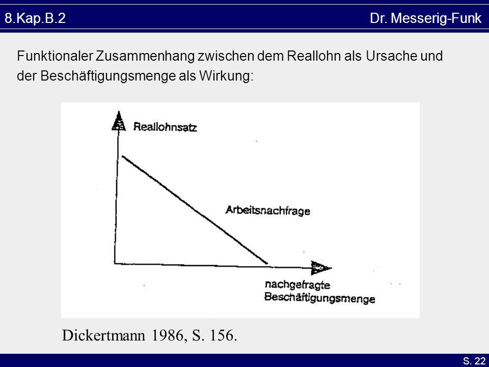Dickertmann 1986, S. 156. 8.Kap.B.2 Dr. Messerig-Funk