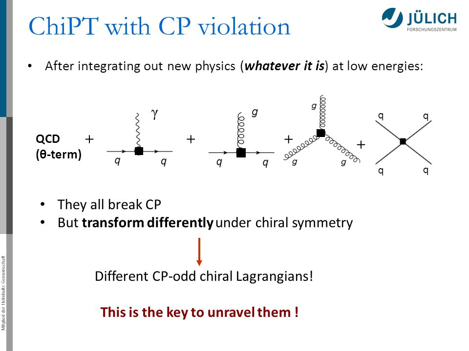 ChiPT with CP violation