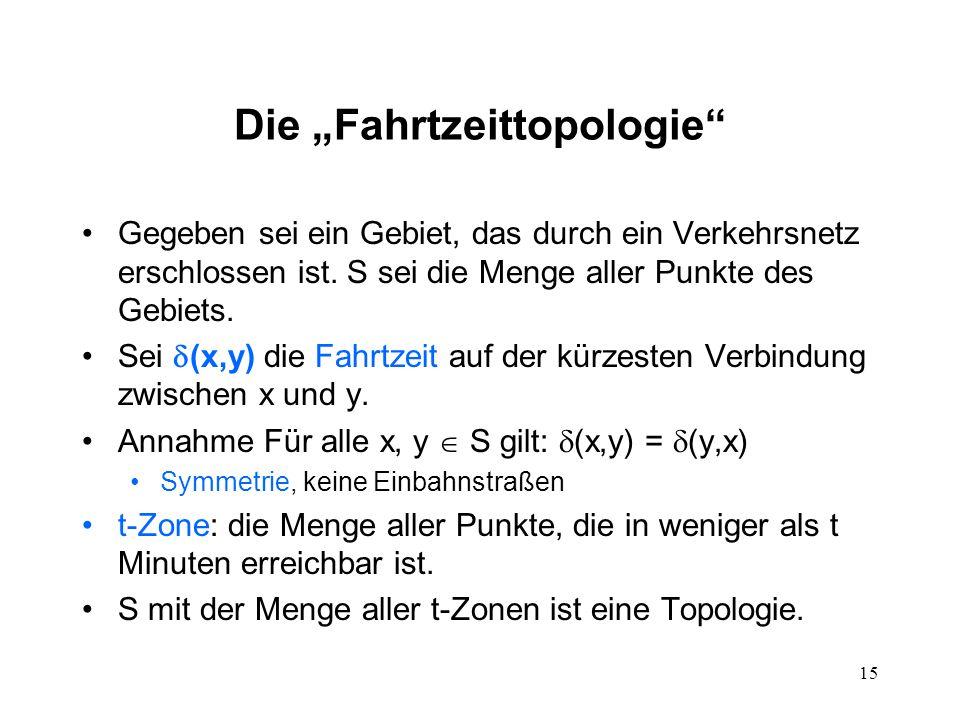 """Die """"Fahrtzeittopologie"""