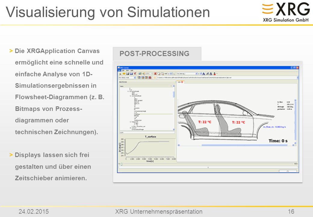Visualisierung von Simulationen