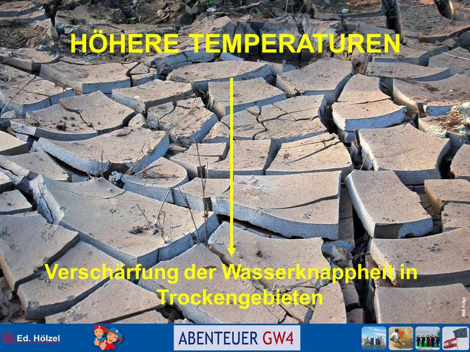 Verschärfung der Wasserknappheit in Trockengebieten