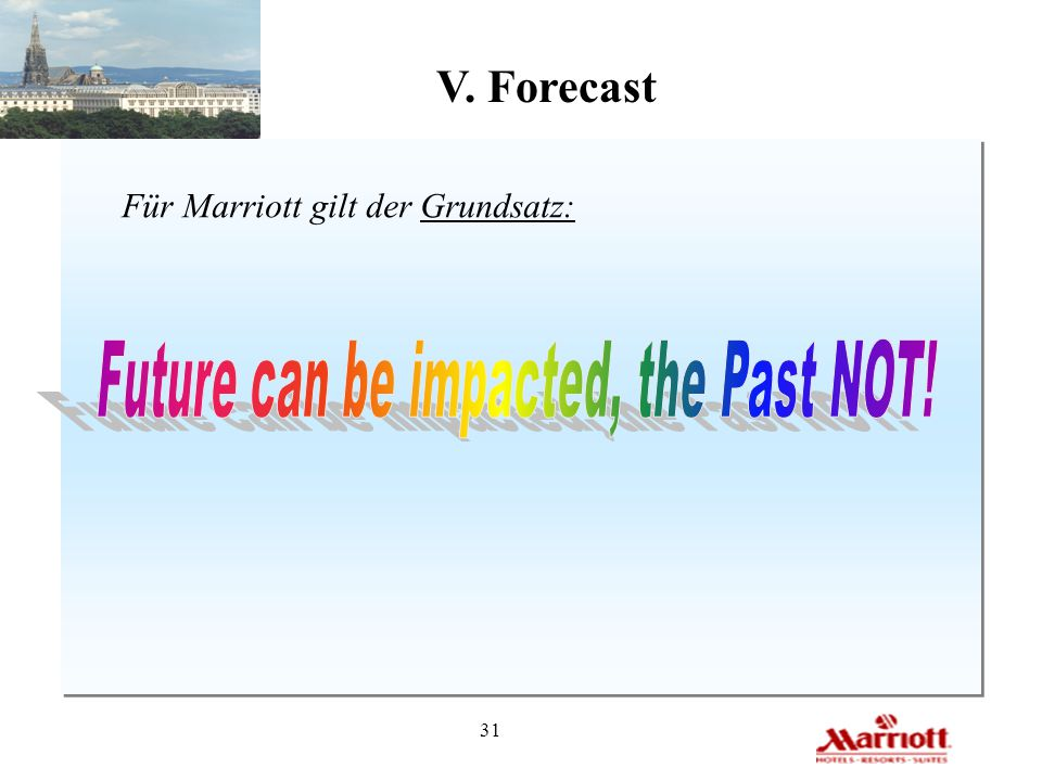 Future can be impacted, the Past NOT!