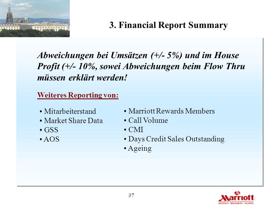 3. Financial Report Summary
