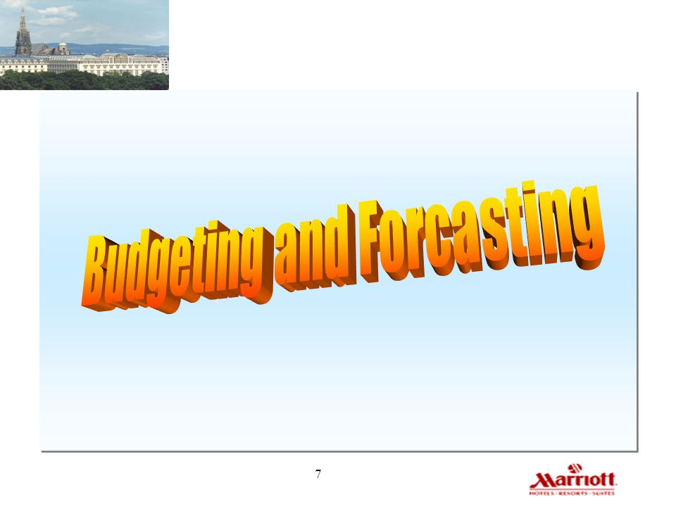 Budgeting and Forcasting