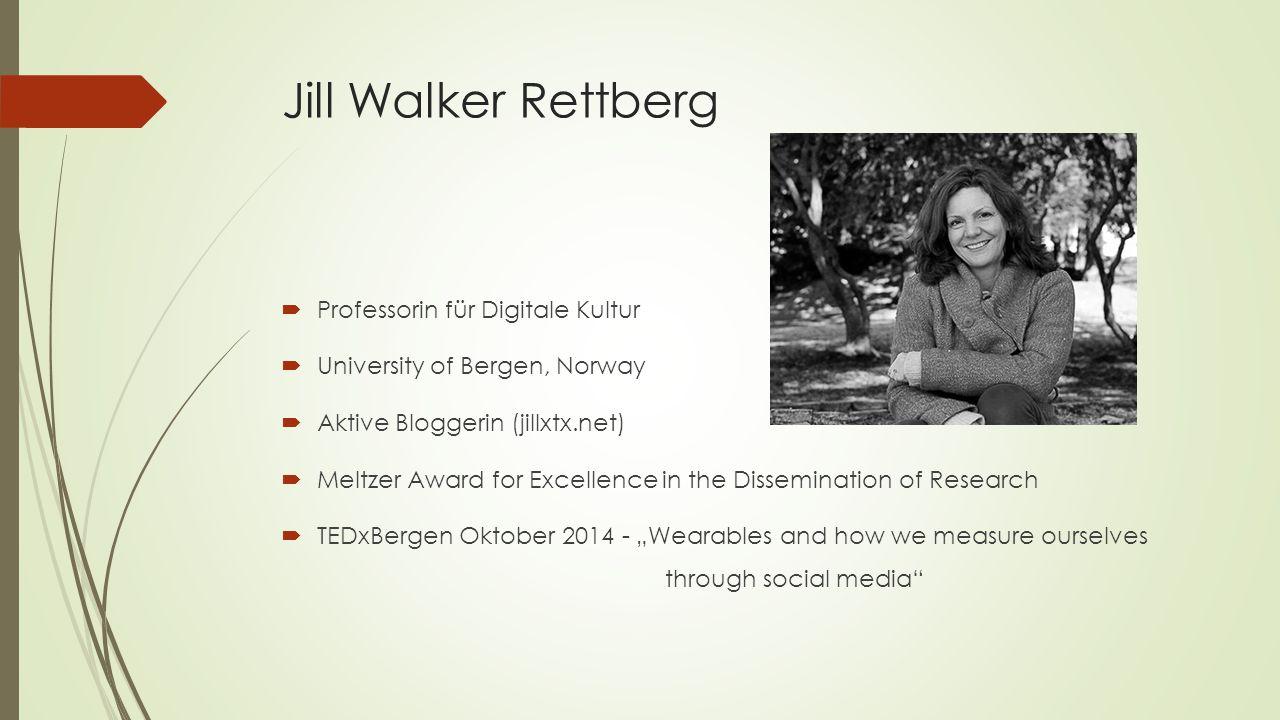 Jill Walker Rettberg Professorin für Digitale Kultur