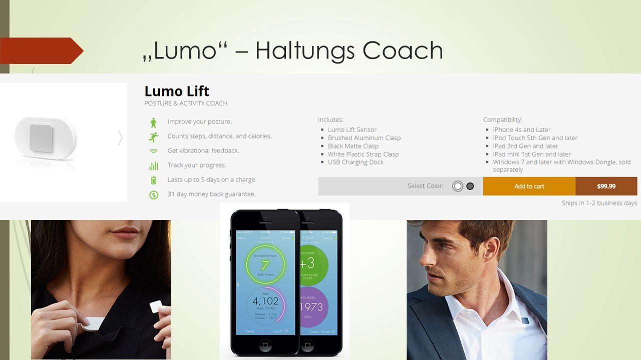 """Lumo – Haltungs Coach"