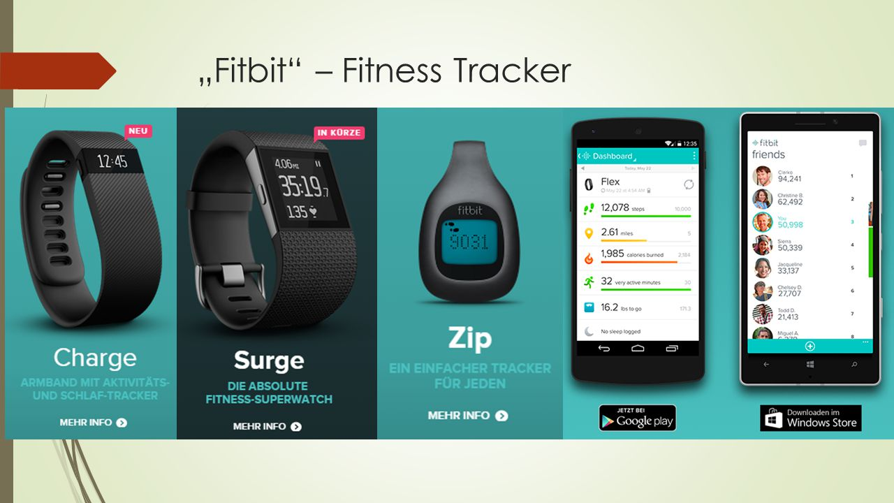 """Fitbit – Fitness Tracker"