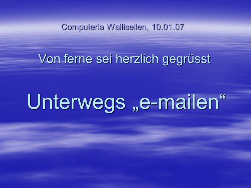 Computeria Wallisellen, 10. 01