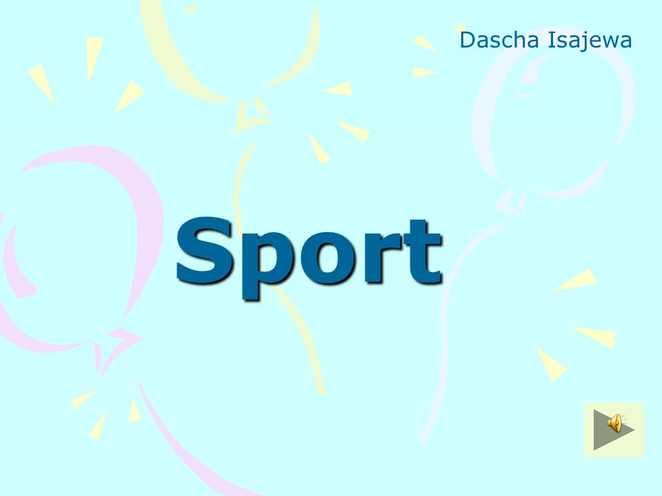 Dascha Isajewa Sport