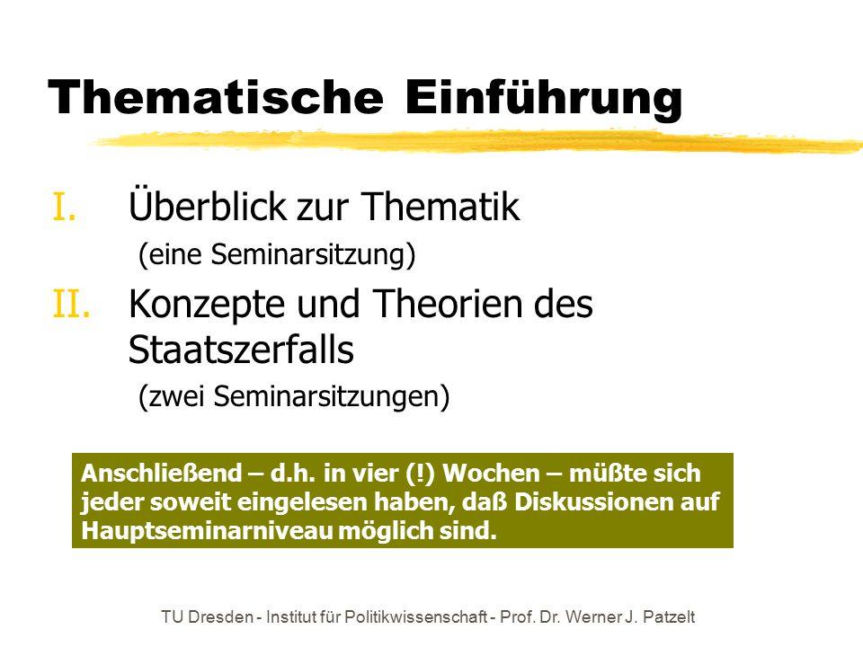 Thematische Einführung
