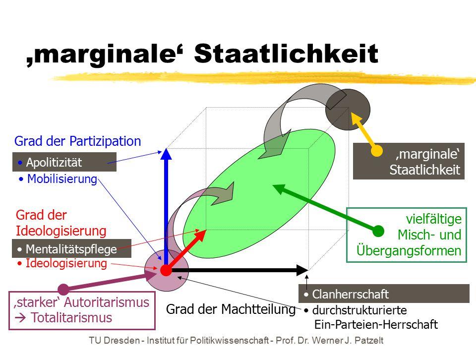 'marginale' Staatlichkeit
