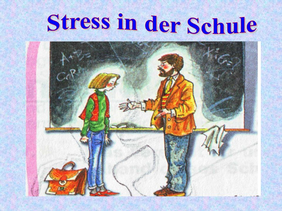 Stress in der Schule