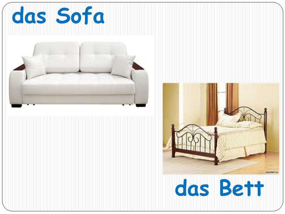 das Sofa das Bett