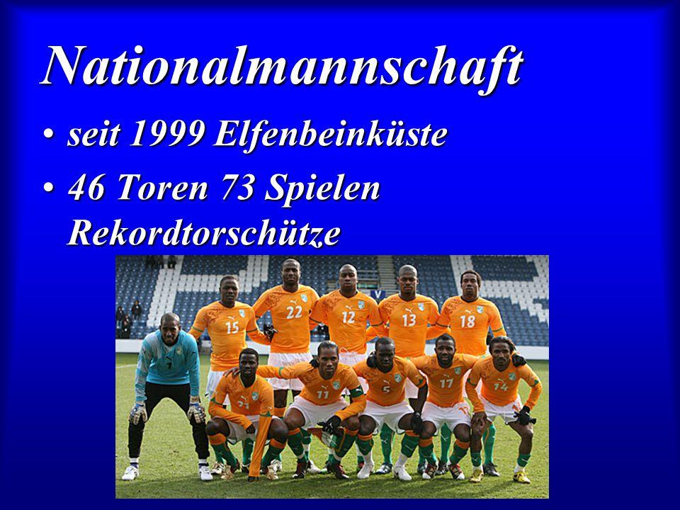 Nationalmannschaft seit 1999 Elfenbeinküste