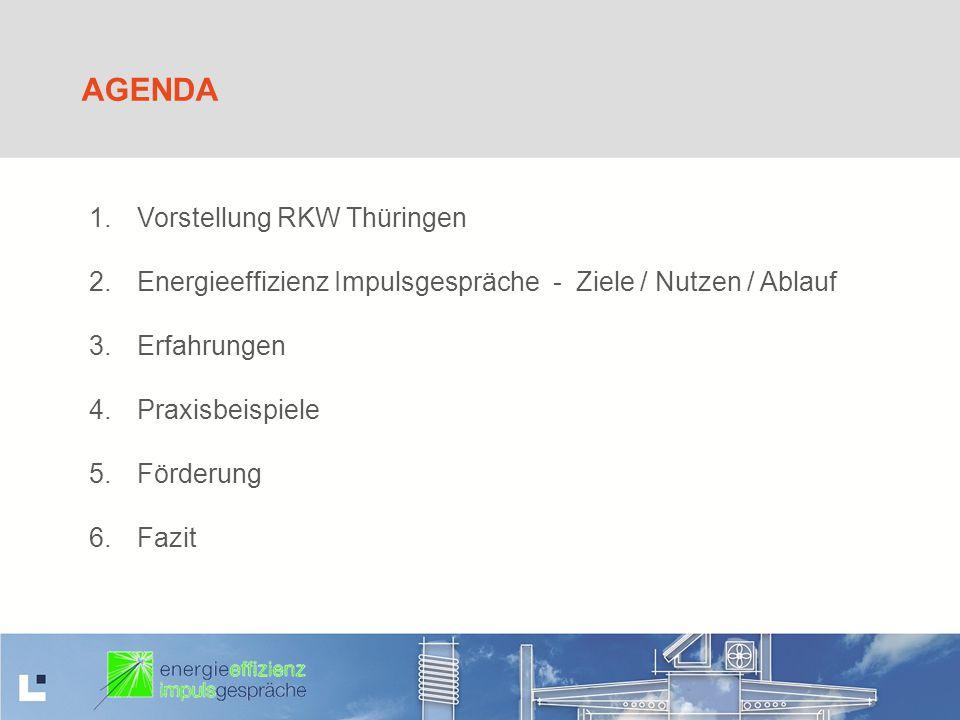 Agenda Vorstellung RKW Thüringen