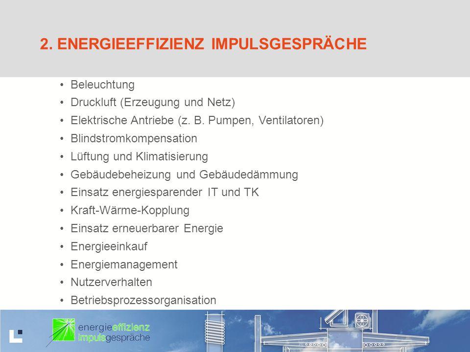 2. Energieeffizienz Impulsgespräche