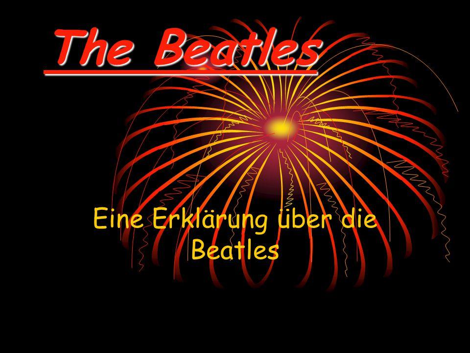 Eine Erklärung über die Beatles