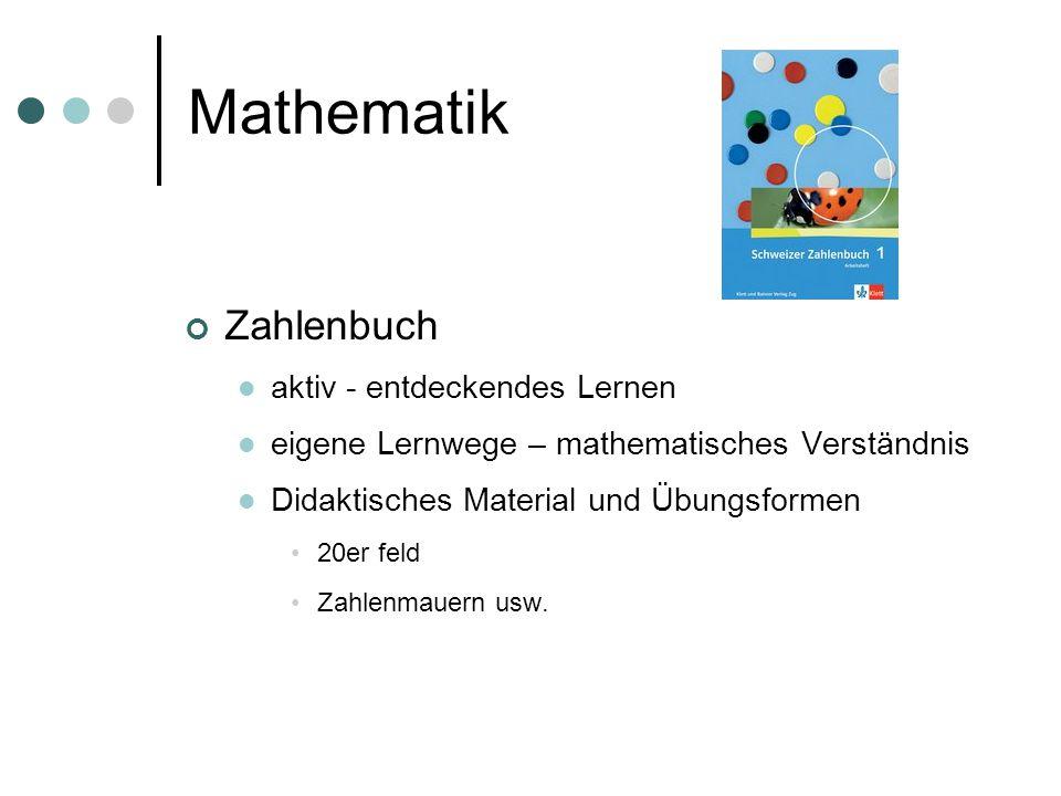Mathematik Zahlenbuch aktiv - entdeckendes Lernen