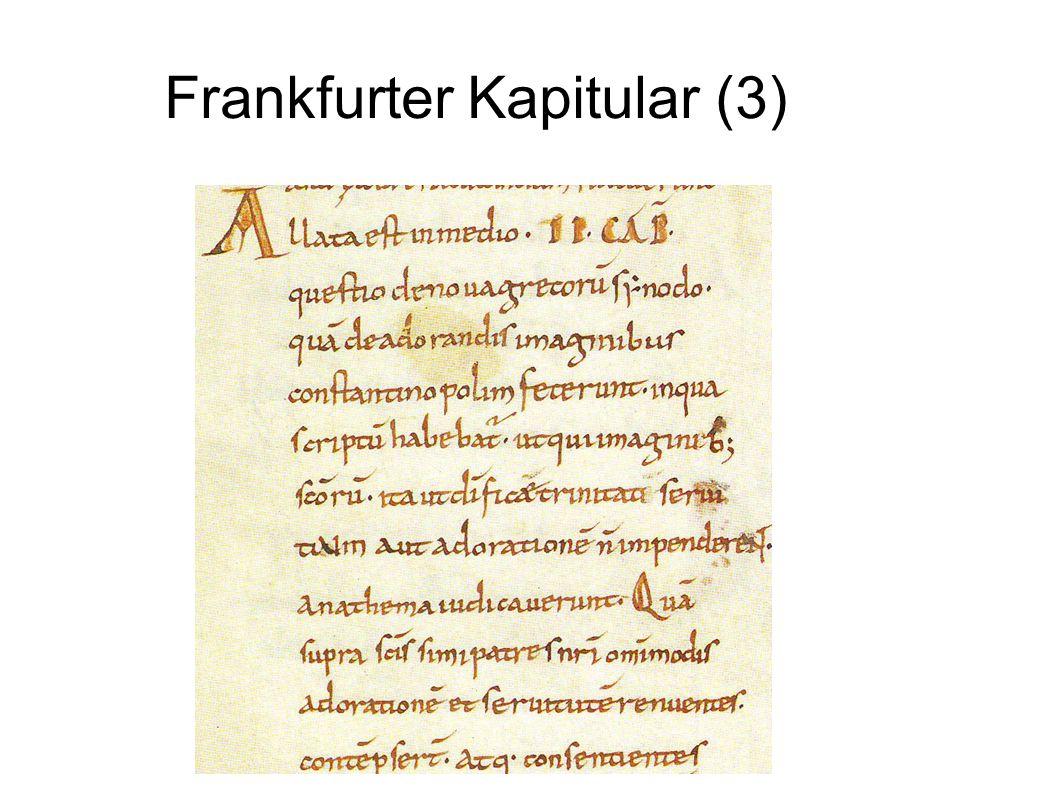 Frankfurter Kapitular (3)