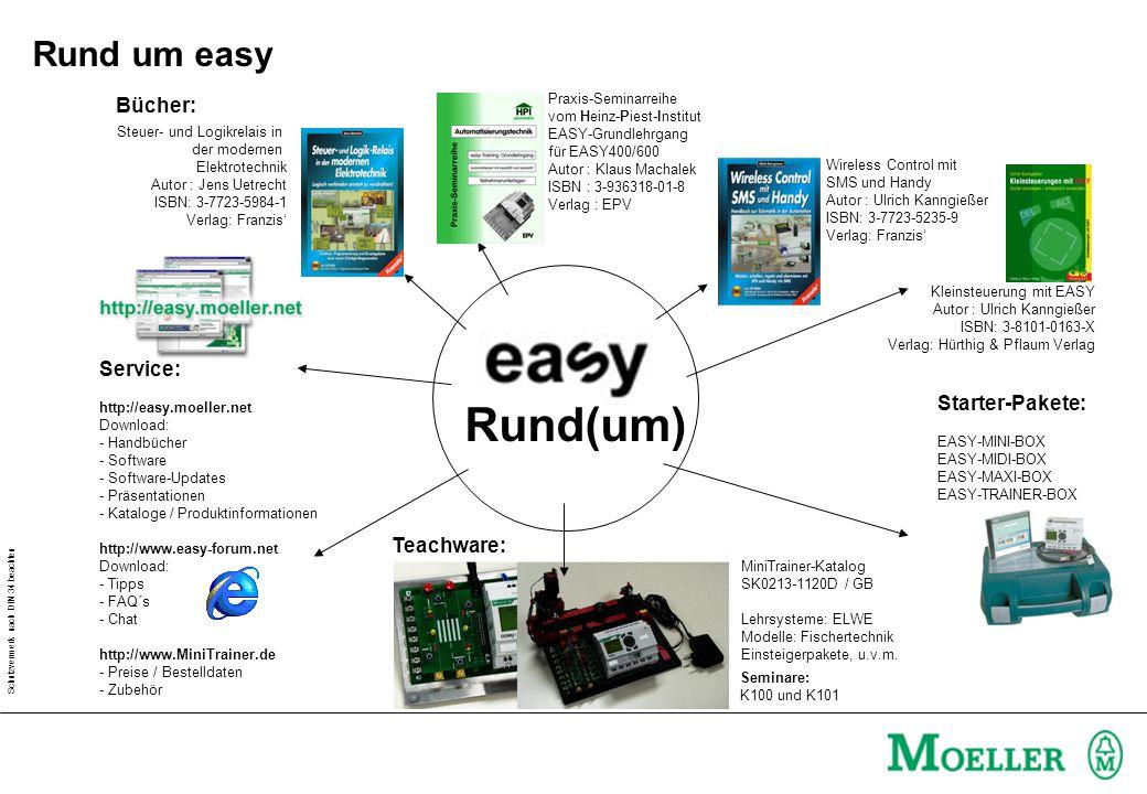 Rund(um) Rund um easy Bücher: Service: Starter-Pakete: Teachware:
