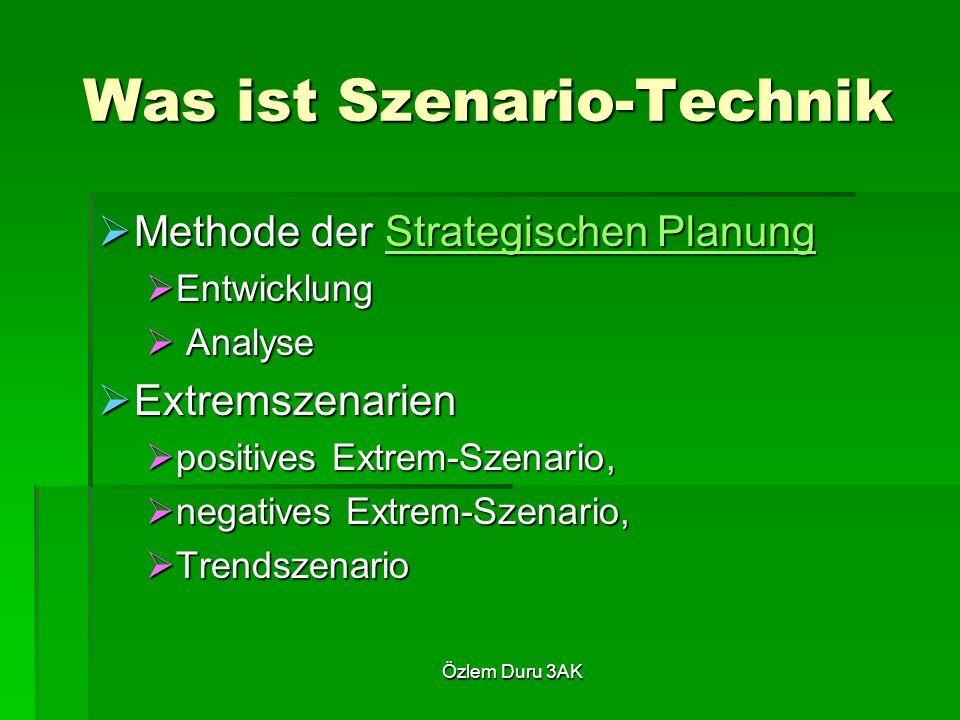Was ist Szenario-Technik