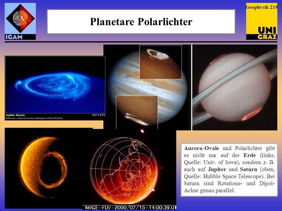 Planetare Polarlichter
