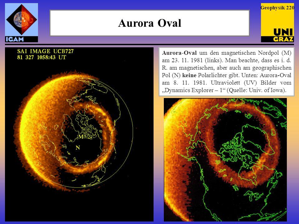 Geophysik 220 Aurora Oval.