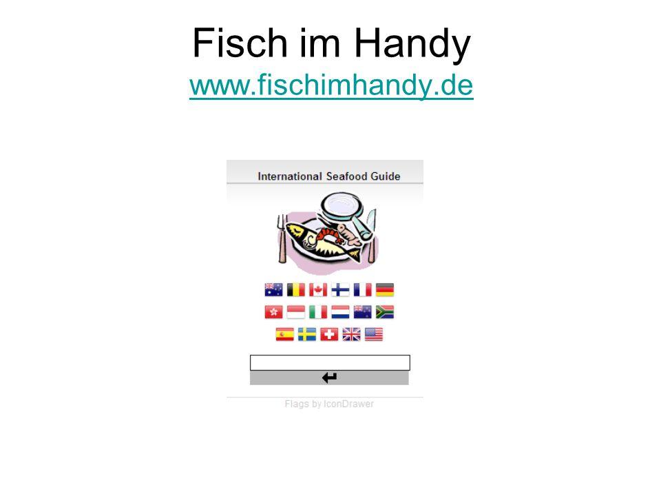Fisch im Handy www.fischimhandy.de
