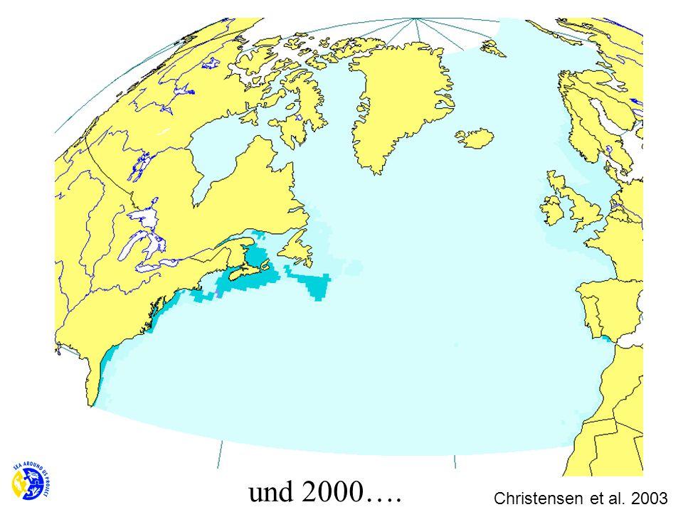 und 2000…. Christensen et al. 2003