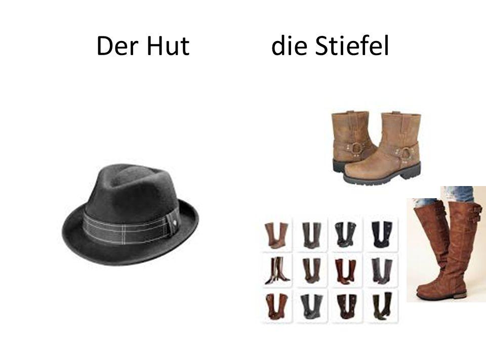 Der Hut die Stiefel
