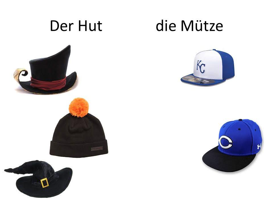 Der Hut die Mütze