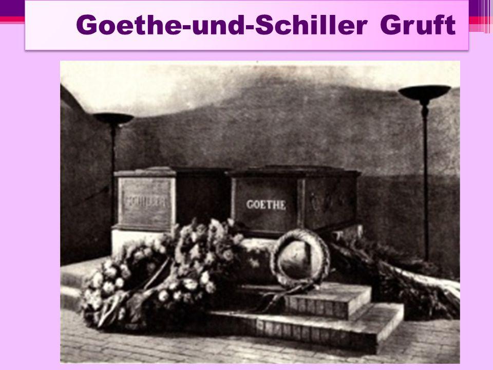 Goethe-und-Schiller Gruft