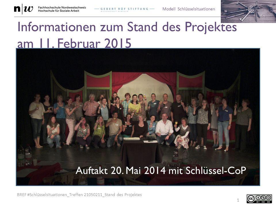 Informationen zum Stand des Projektes am 11. Februar 2015