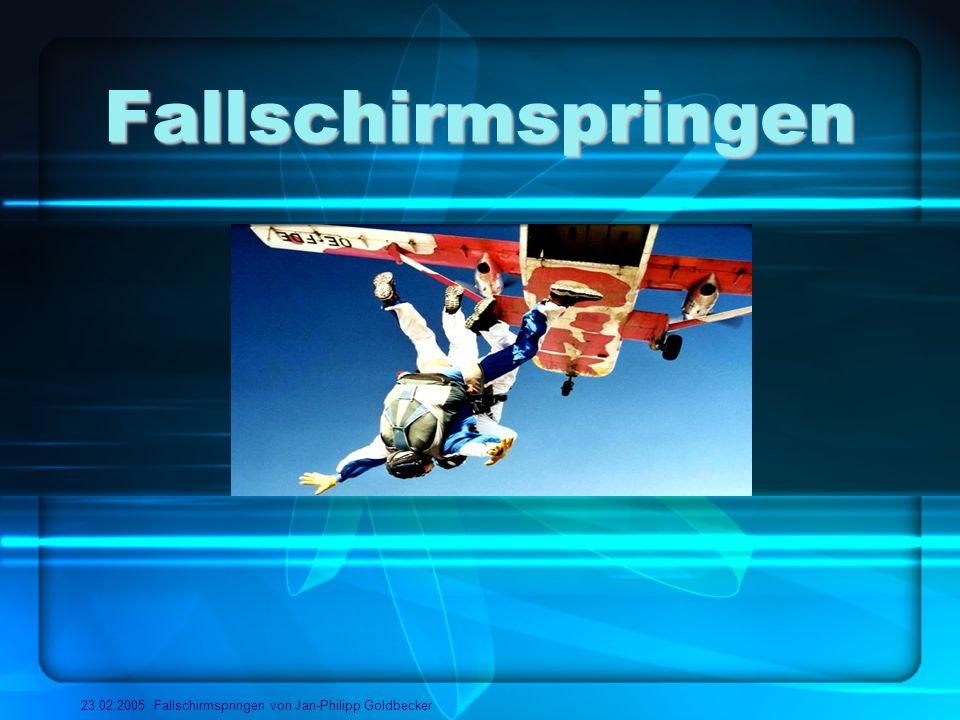 Fallschirmspringen 23.02.2005 Fallschirmspringen von Jan-Philipp Goldbecker