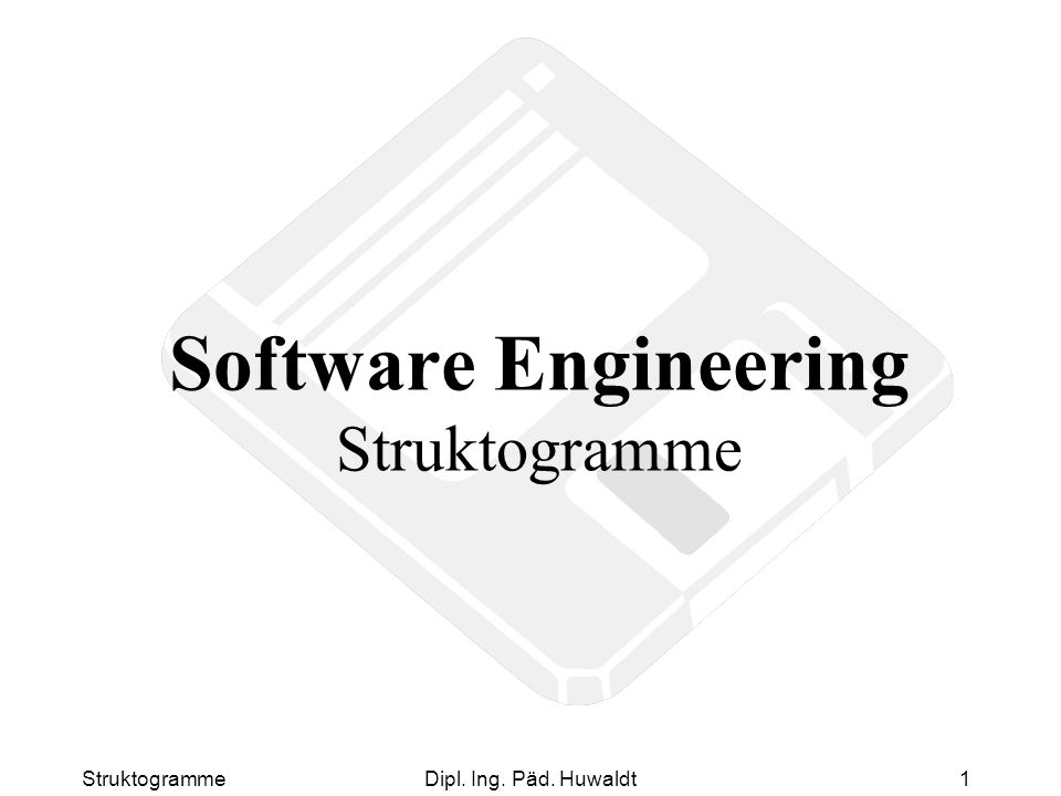 Software Engineering Struktogramme